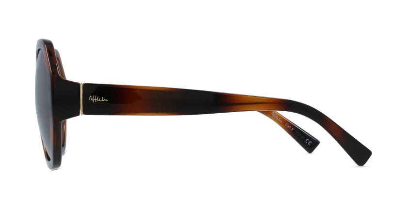 Gafas de sol mujer AURORA carey - vista de lado