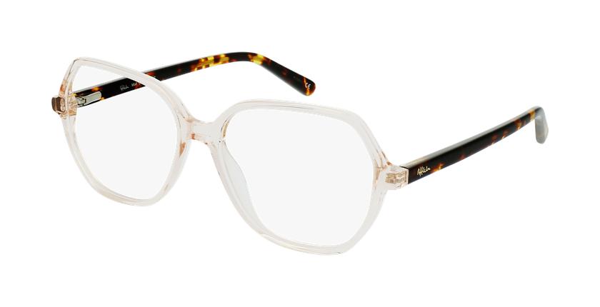 Gafas graduadas mujer CONSTANCE marrón - vue de 3/4