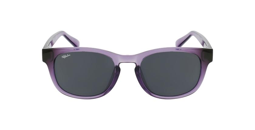 Gafas de sol niños POROMA morado - vista de frente