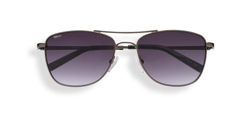 Gafas de sol hombre BELEM gris - vista de frente