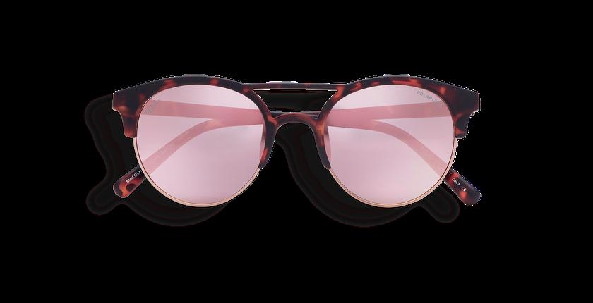 Gafas de sol mujer OLHAO POLARIZED carey - vista de frente