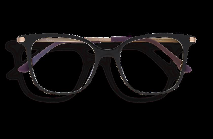 Gafas graduadas mujer MAGIC 28 BLUE BLOCK negro - danio.store.product.image_view_face