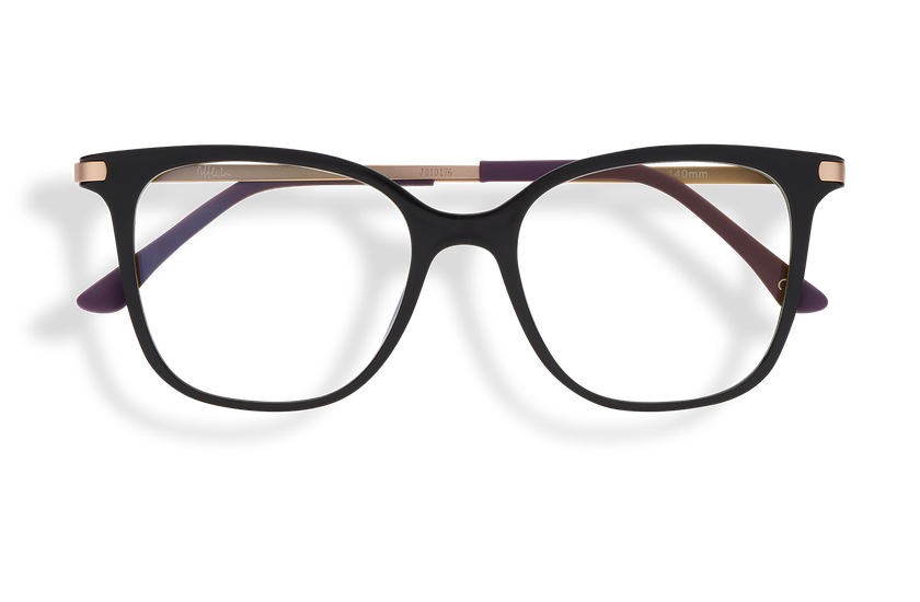 Gafas graduadas mujer MAGIC 28 BLUE BLOCK negro - danio.store.product.image_view_face