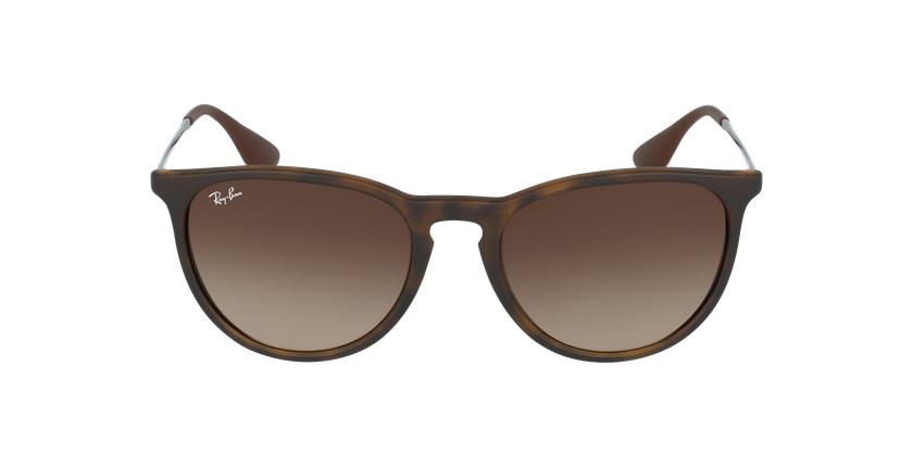 Gafas de sol ERIKA negro/marrón - vista de frente