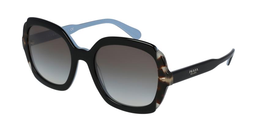 Gafas de sol mujer 0PR 16US azul/marrón - vue de 3/4