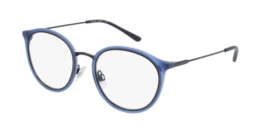 Gafas graduadas hombre PH 2201 azul/negro - vue de 3/4