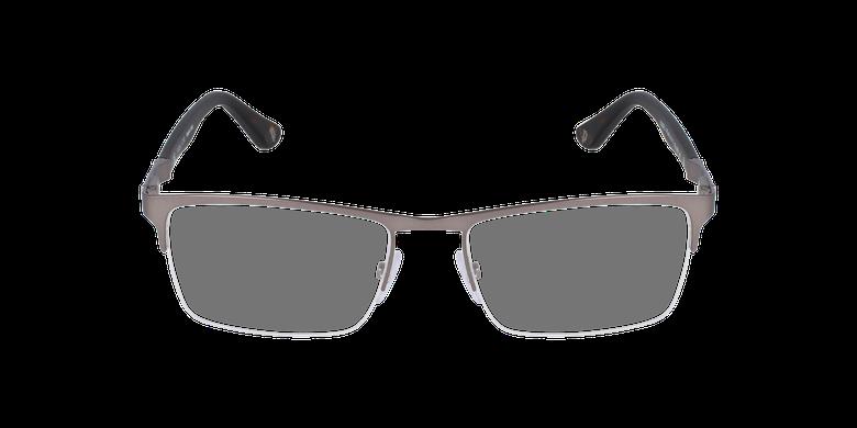 Gafas graduadas hombre VPL465 plateado/negrovista de frente