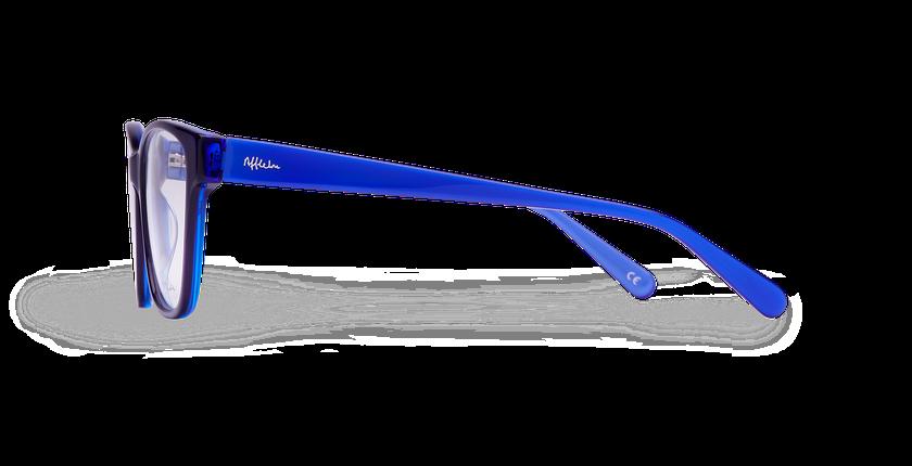 Gafas graduadas mujer KIERA azul - vista de lado