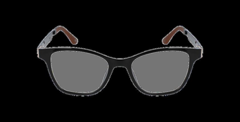 Gafas graduadas mujer MAGIC 17 negro/negro brillante - vista de frente