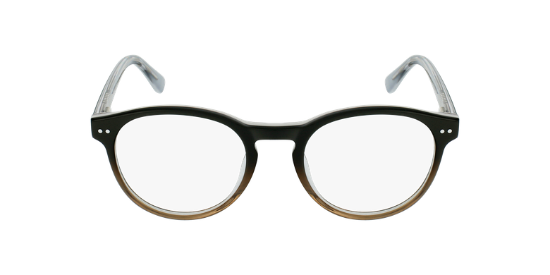 Gafas graduadas niños LIV negro/grisvista de frente