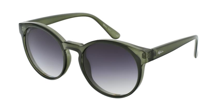 Gafas de sol mujer SEVA verde - vue de 3/4