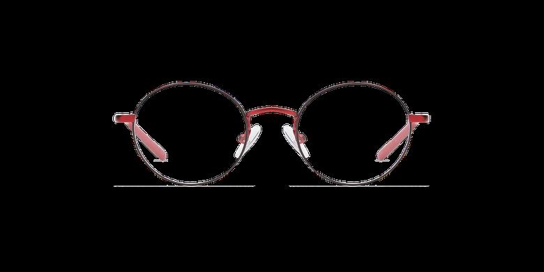 Gafas graduadas niños LOIS rojo/negro