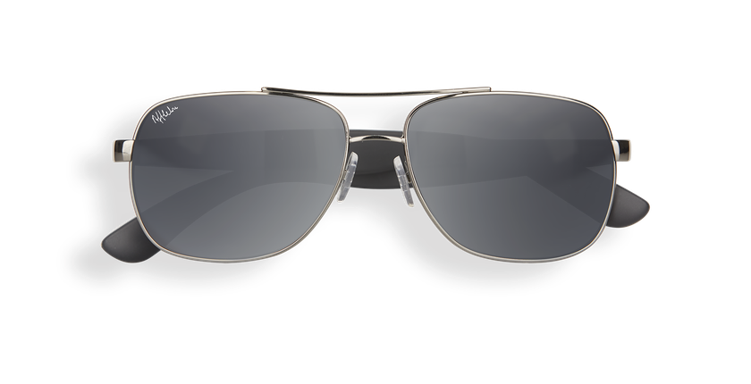Gafas de sol hombre CRUZEIRO gris/gris - vista de frente