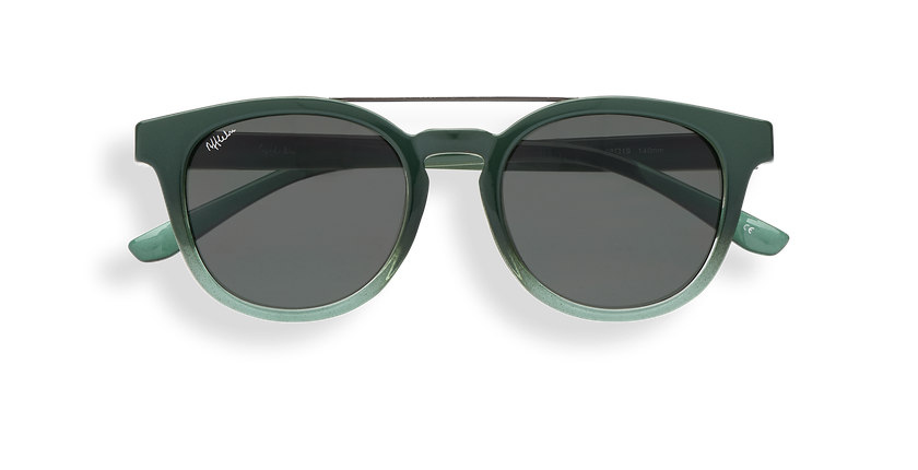 Gafas de sol niños ALIZOS verde - vista de frente