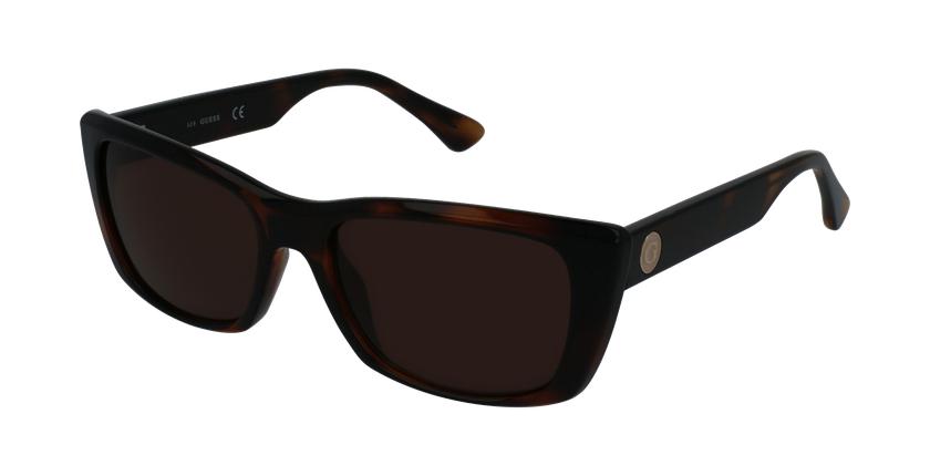 Gafas de sol mujer GU7652 marrón - vue de 3/4