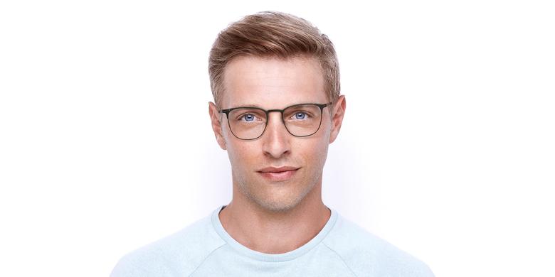 Gafas graduadas hombre ARGON marrón/dorado