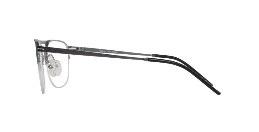 Gafas graduadas hombre NEON gris/plateado - vista de lado