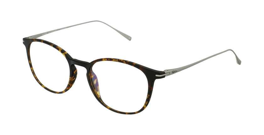 Gafas graduadas MAGIC 66 carey/plateado - vue de 3/4