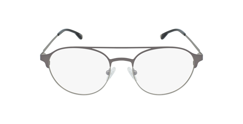 Gafas graduadas hombre MAGIC 52 BLUEBLOCK gris/plateado - vista de frente