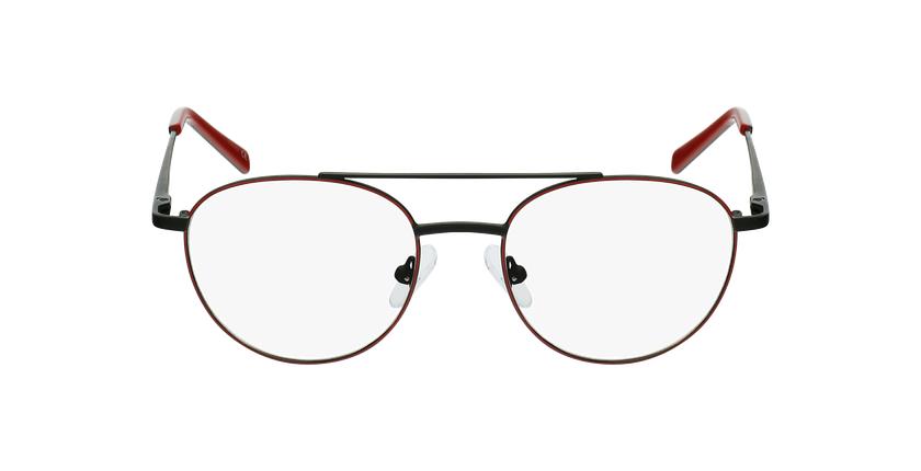 Gafas graduadas niños NINO rojo/negro - vista de frente