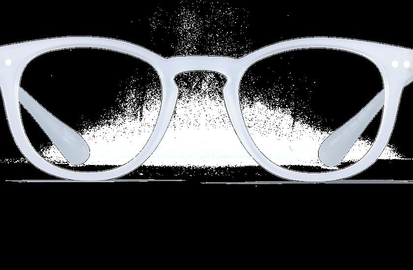 Gafas graduadas BLUE BLOCK UNISEX transparente - danio.store.product.image_view_face