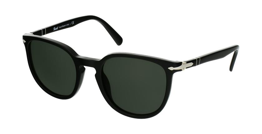 Gafas de sol PO3226S negro/negro - vue de 3/4