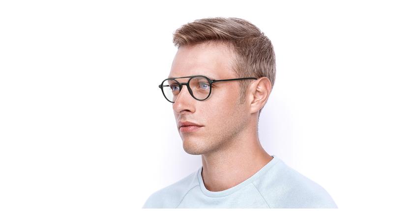 Gafas graduadas MAGIC 74 gris - vue de 3/4