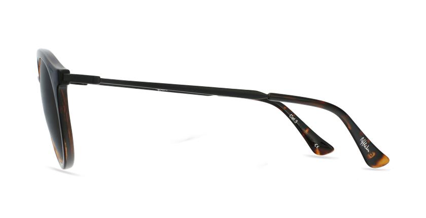 Gafas de sol mujer ITABATA carey/negro - vista de lado