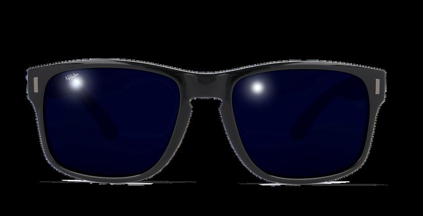 Gafas de sol hombre DYLAN POLARIZED negro - vista de frente
