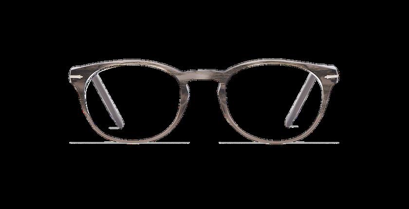 Gafas graduadas hombre CHAMPAGNOLE gris/carey - vista de frente