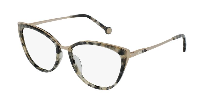 Gafas graduadas mujer VHE853 marrón/carey - vue de 3/4