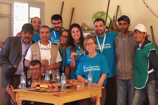 Día 6. Merzouga – Glagla – Merzouga – Los voluntarios viven una jornada llena de emociones