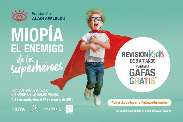 Campaña Escolar en favor de la Salud Visual