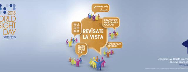 DÍA MUNDIAL DE LA VISIÓN: LA IMPORTANCIA DE LAS REVISIONES VISUALES