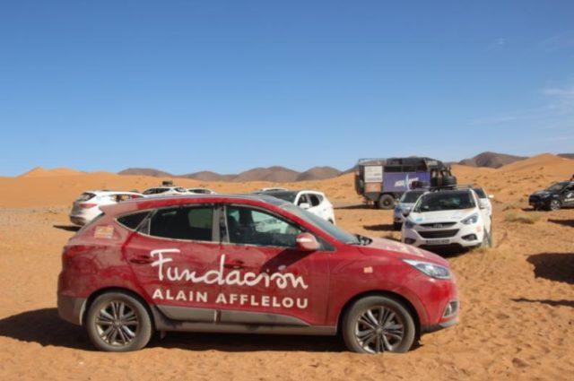 La Fundación Alain Afflelou colabora en el proyecto solidario «El desierto de los niños»