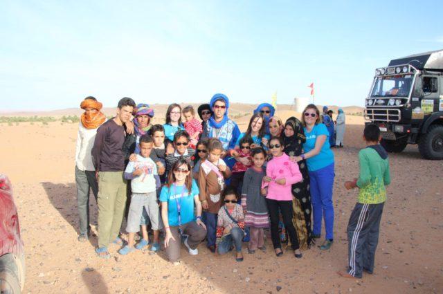 La Fundación Alain Afflelou participa en la 10ª edición del Desierto de los niños