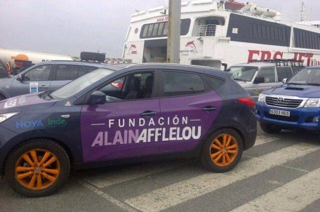"""La Fundación Alain Afflelou regresó a Marruecos por cuarto año consecutivo con la iniciativa solidaria """"El Desierto de los Niños"""""""