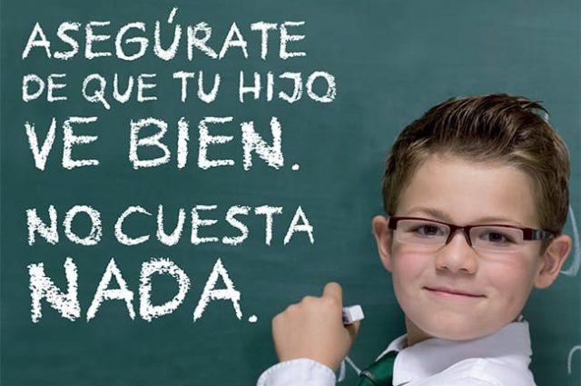 Más de 50.000 niños han sido revisados durante las 10 últimas Campañas de Fracaso Escolar de la Fundación Alain Afflelou