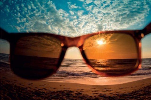 La importancia del color de las lentes de sol