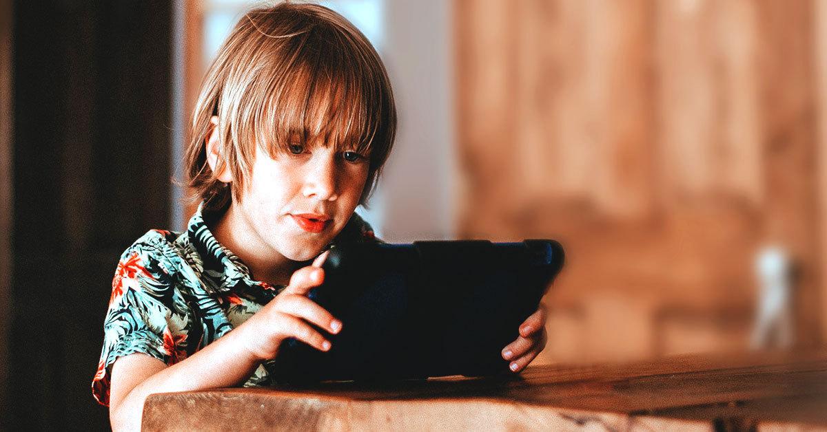 Tiempo recomendado de exposición a las pantallas en niños