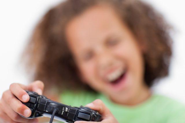 Efectos de los videojuegos en la vista de los niños
